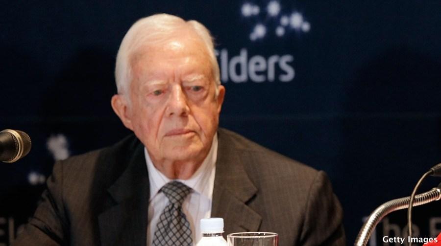 Former US President Jimmy Carter Visits South Korea