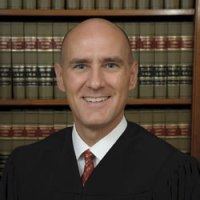 Here's Judge David Byrn, the judge that fired the 70-year old woman for helping to free an innocent man