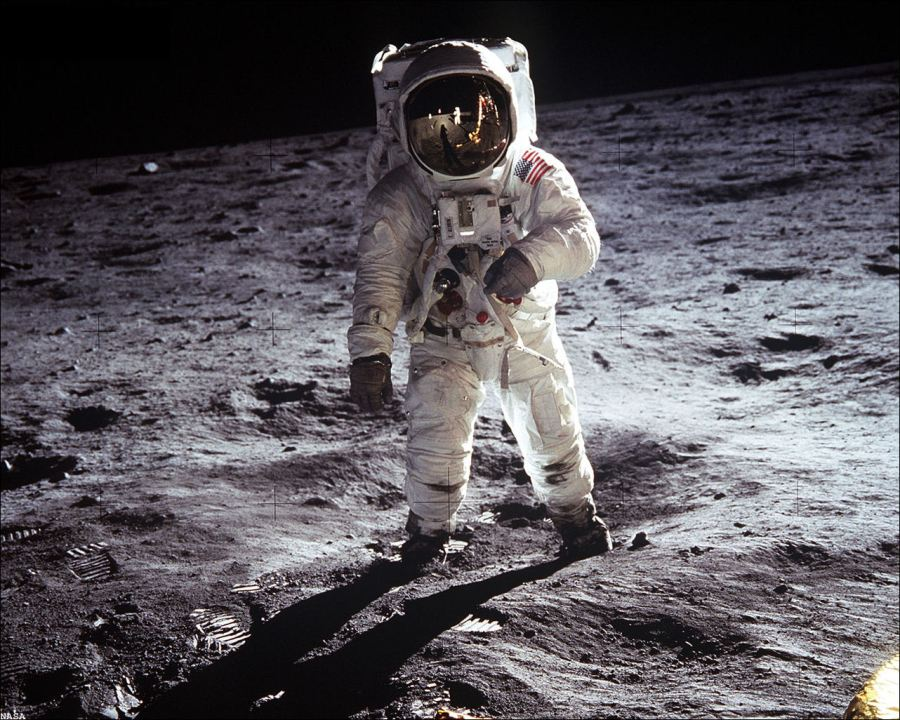 Buzz-Aldrin-on-The-Moon