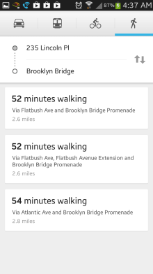 They switched much of the map UI to match the cards UI of Google Now. It looks pretty slick, very clean and easy to navigate.