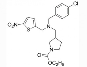 Drug candidate SR9009 is a simple molecule that produces significant benefits (Photo: The Scripps Research Institute)