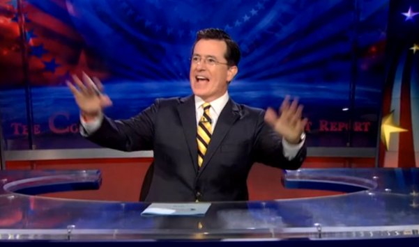 "Stephen Colbert to Vladimir Putin  ""F ck you ""   slothed"
