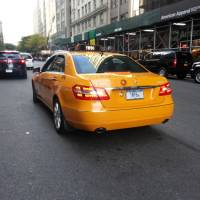 NYC's hottest yellow cab is this $51k Mercedes E350