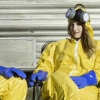 Couple has 'Breaking Bad' inspired engagement photo shoot