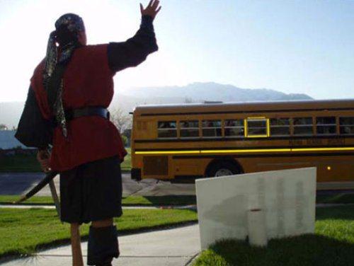 dad-embarrasses-son-waving-bus-stop-13