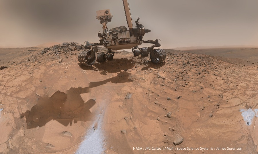mars-rover-self-portrait