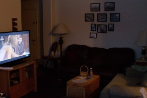 Here are some pictures of the condo we spent the night in. It feels cozier than you would imagine.