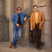First photo of Brad Pitt and Leonardo DiCaprio in Quentin Tarantino's 'Once Upon a Time in Hollywood'