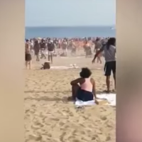 Two stabbed during massive Coney Island brawl