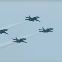 Guy takes a 4k camera with a super-zoom lens to an airshow and the results are pretty amazing
