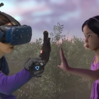 Mother is Reunited with her Deceased Daughter via VR
